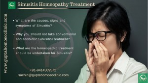 Sinusitis Homeopathy Treatment - What are the causes, signs and symptoms of Sinusitis